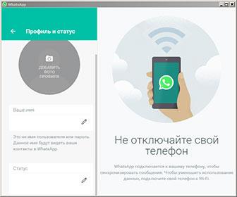 WhatsApp Messenger screenshot mini